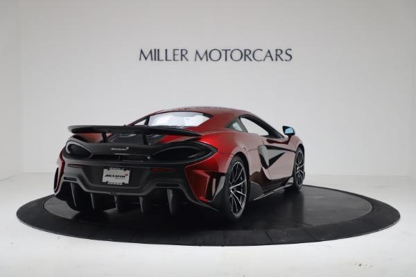 New 2019 McLaren 600LT Coupe for sale $285,236 at Alfa Romeo of Westport in Westport CT 06880 6