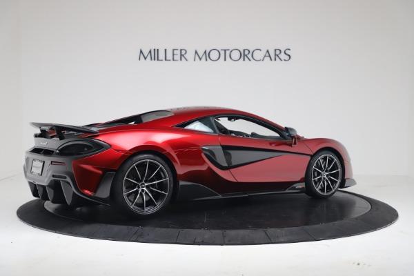 New 2019 McLaren 600LT Coupe for sale $285,236 at Alfa Romeo of Westport in Westport CT 06880 7