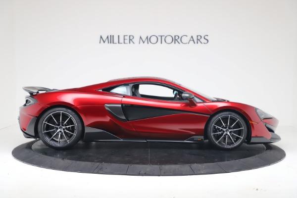 New 2019 McLaren 600LT Coupe for sale $285,236 at Alfa Romeo of Westport in Westport CT 06880 8