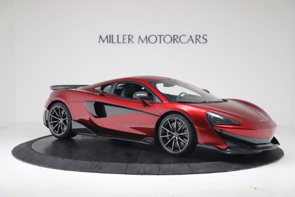 New 2019 McLaren 600LT Coupe for sale $285,236 at Alfa Romeo of Westport in Westport CT 06880 9