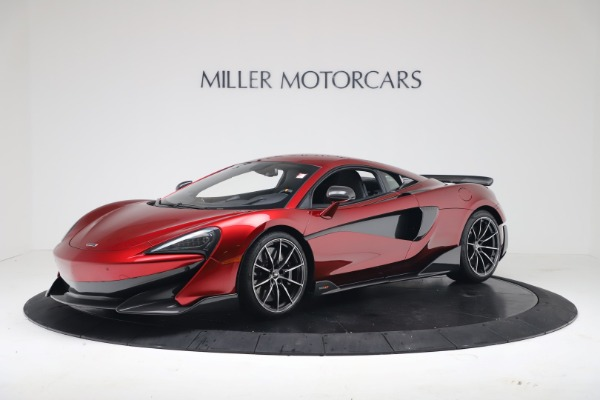 New 2019 McLaren 600LT Coupe for sale $285,236 at Alfa Romeo of Westport in Westport CT 06880 1