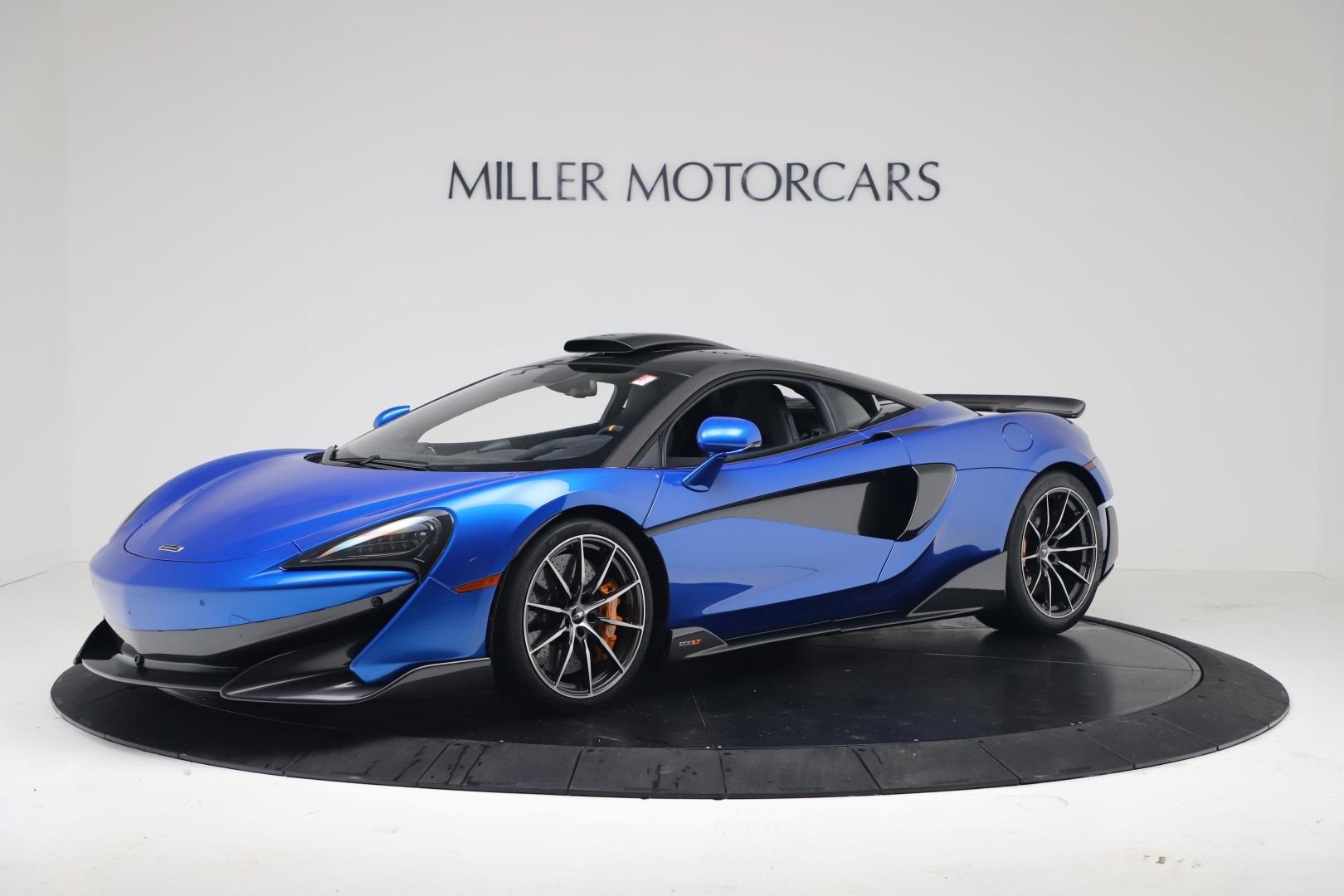 New 2019 McLaren 600LT Coupe for sale Sold at Alfa Romeo of Westport in Westport CT 06880 1