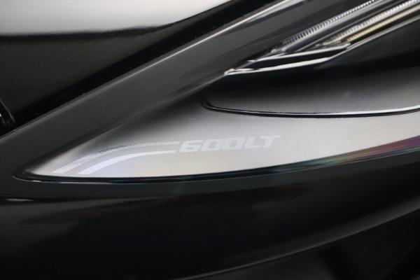 New 2019 McLaren 600LT for sale $305,639 at Alfa Romeo of Westport in Westport CT 06880 14