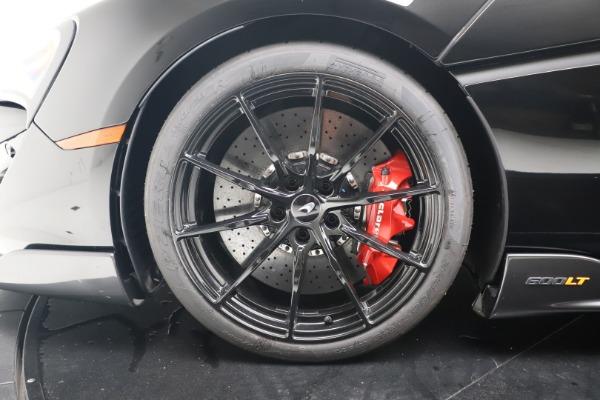 New 2019 McLaren 600LT for sale $305,639 at Alfa Romeo of Westport in Westport CT 06880 15