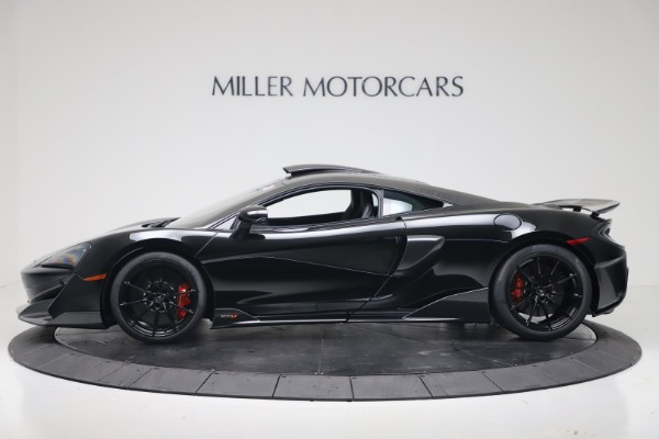 New 2019 McLaren 600LT Coupe for sale $305,639 at Alfa Romeo of Westport in Westport CT 06880 2