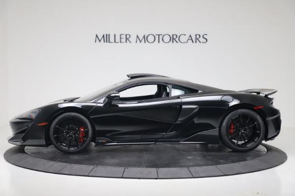 New 2019 McLaren 600LT for sale $305,639 at Alfa Romeo of Westport in Westport CT 06880 2