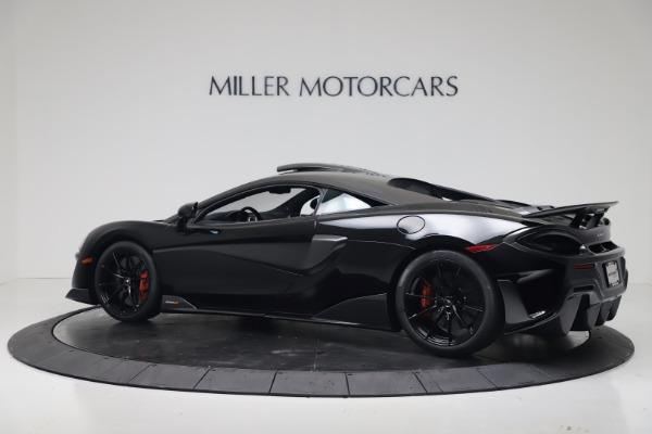 New 2019 McLaren 600LT Coupe for sale $305,639 at Alfa Romeo of Westport in Westport CT 06880 3