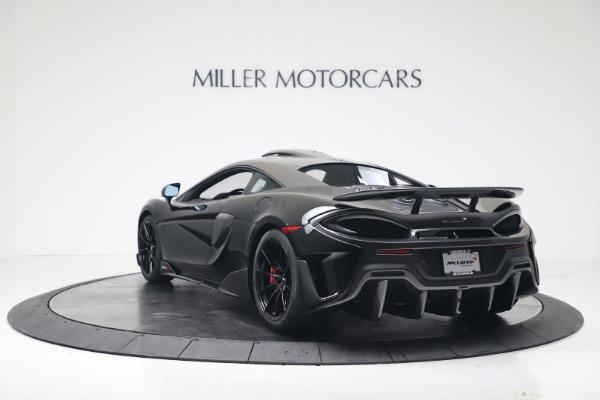 New 2019 McLaren 600LT for sale $305,639 at Alfa Romeo of Westport in Westport CT 06880 4