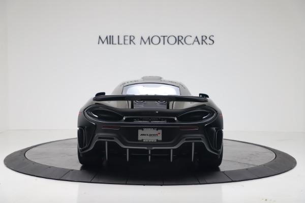 New 2019 McLaren 600LT for sale $305,639 at Alfa Romeo of Westport in Westport CT 06880 5