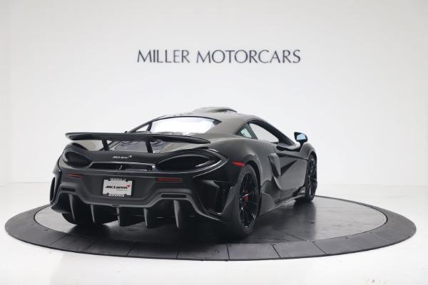 New 2019 McLaren 600LT Coupe for sale $305,639 at Alfa Romeo of Westport in Westport CT 06880 6