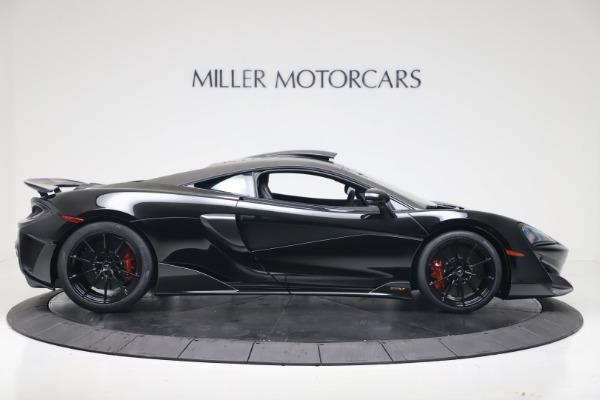 New 2019 McLaren 600LT Coupe for sale $305,639 at Alfa Romeo of Westport in Westport CT 06880 8