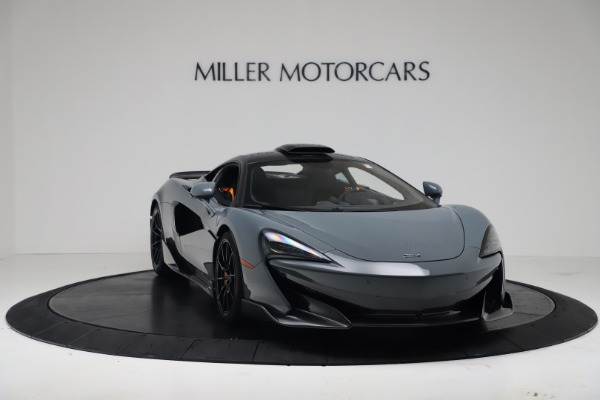 New 2019 McLaren 600LT Coupe for sale $311,619 at Alfa Romeo of Westport in Westport CT 06880 10