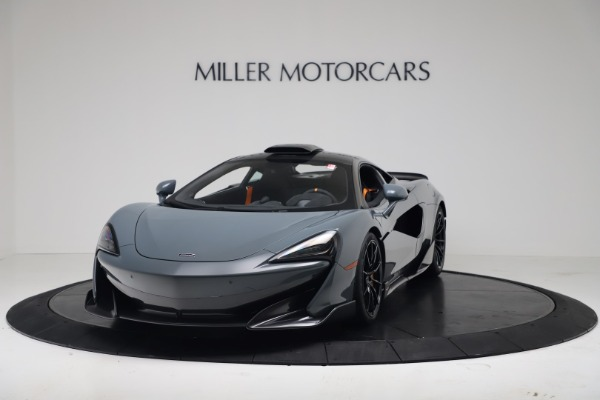 New 2019 McLaren 600LT for sale $311,619 at Alfa Romeo of Westport in Westport CT 06880 13