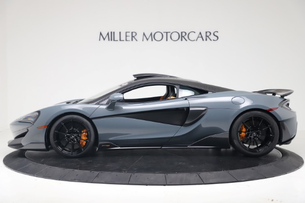 New 2019 McLaren 600LT Coupe for sale $311,619 at Alfa Romeo of Westport in Westport CT 06880 2