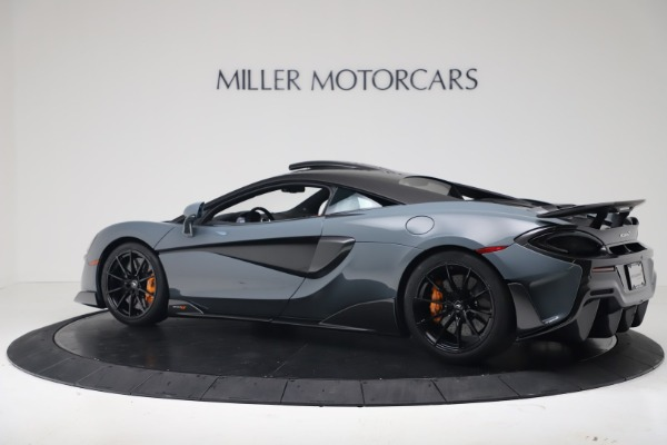 New 2019 McLaren 600LT Coupe for sale $311,619 at Alfa Romeo of Westport in Westport CT 06880 3