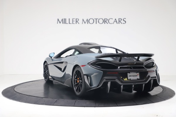 New 2019 McLaren 600LT Coupe for sale $311,619 at Alfa Romeo of Westport in Westport CT 06880 4