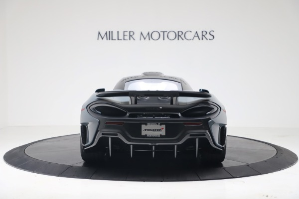 New 2019 McLaren 600LT Coupe for sale $311,619 at Alfa Romeo of Westport in Westport CT 06880 5