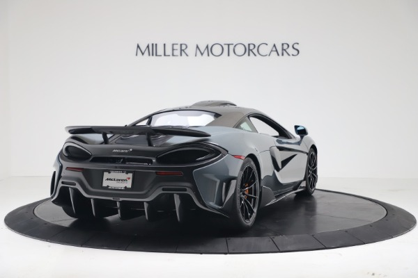 New 2019 McLaren 600LT Coupe for sale $311,619 at Alfa Romeo of Westport in Westport CT 06880 6