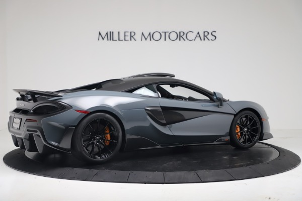 New 2019 McLaren 600LT Coupe for sale $311,619 at Alfa Romeo of Westport in Westport CT 06880 7