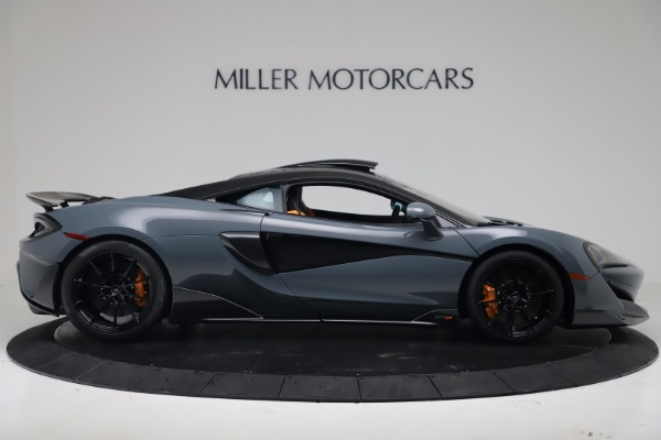 New 2019 McLaren 600LT Coupe for sale $311,619 at Alfa Romeo of Westport in Westport CT 06880 8