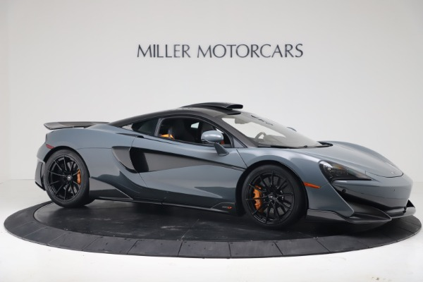 New 2019 McLaren 600LT Coupe for sale $311,619 at Alfa Romeo of Westport in Westport CT 06880 9