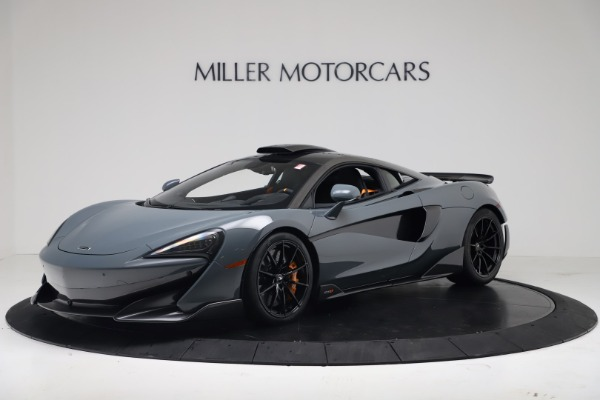 New 2019 McLaren 600LT Coupe for sale $311,619 at Alfa Romeo of Westport in Westport CT 06880 1