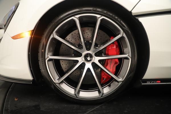 New 2020 McLaren 570S for sale $215,600 at Alfa Romeo of Westport in Westport CT 06880 15