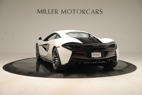 New 2020 McLaren 570S for sale $215,600 at Alfa Romeo of Westport in Westport CT 06880 4
