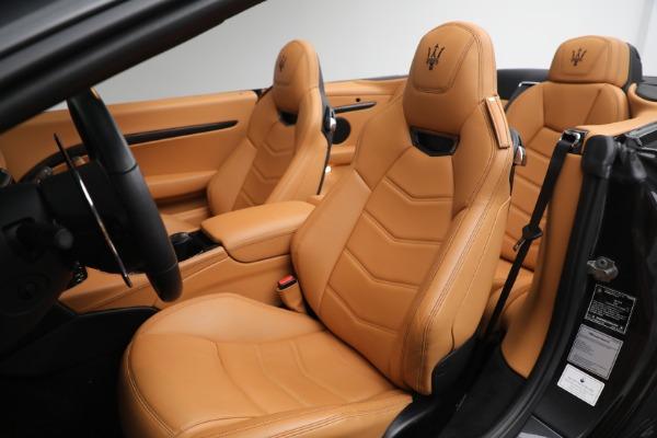New 2019 Maserati GranTurismo MC Convertible for sale $176,595 at Alfa Romeo of Westport in Westport CT 06880 27