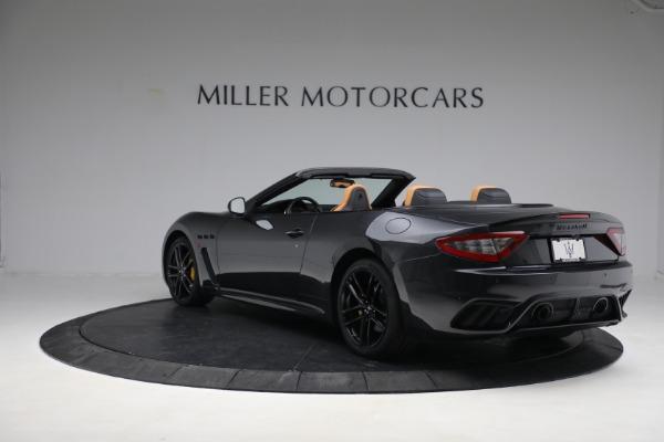 New 2019 Maserati GranTurismo MC Convertible for sale $176,595 at Alfa Romeo of Westport in Westport CT 06880 5