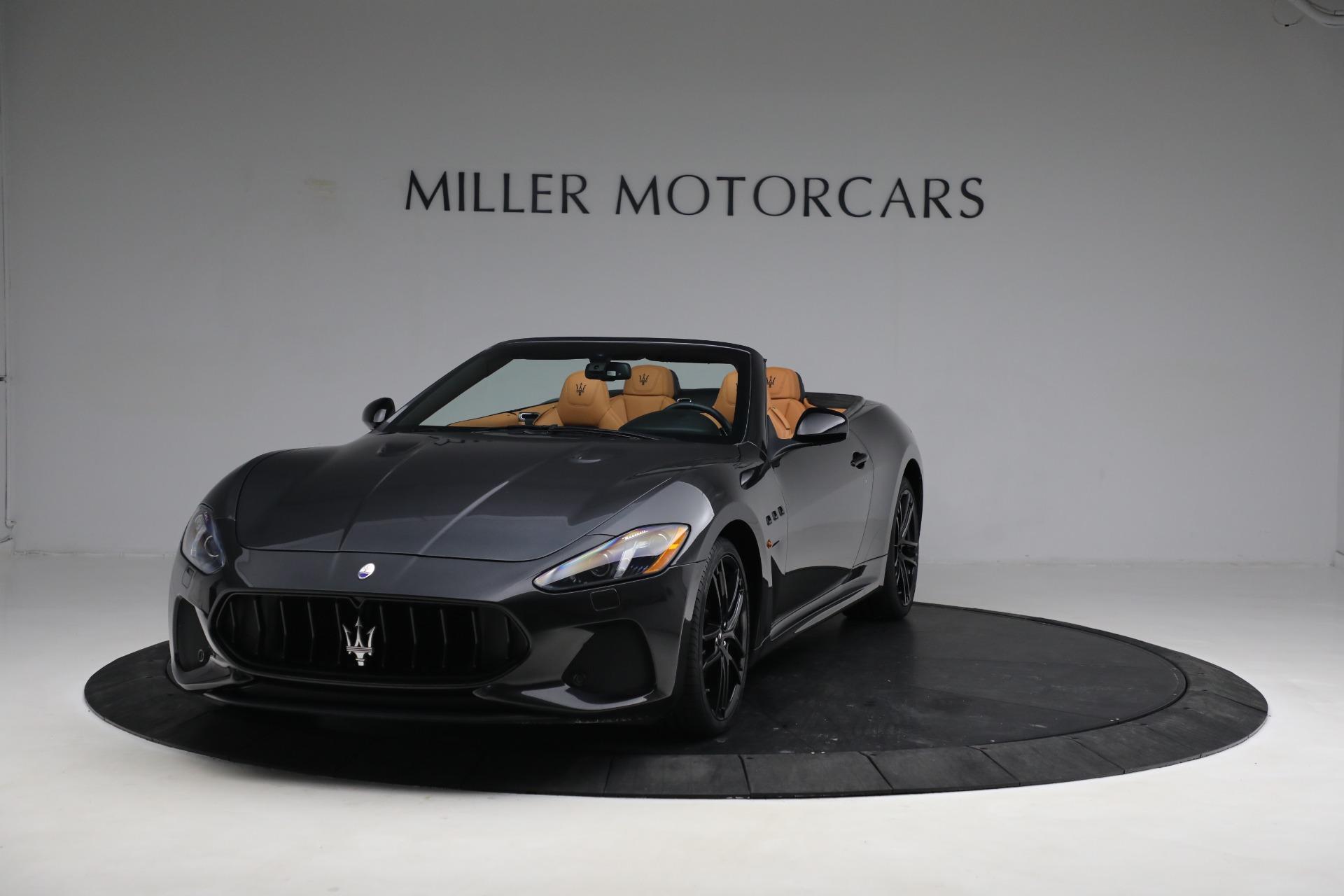 New 2019 Maserati GranTurismo MC Convertible for sale $176,595 at Alfa Romeo of Westport in Westport CT 06880 1