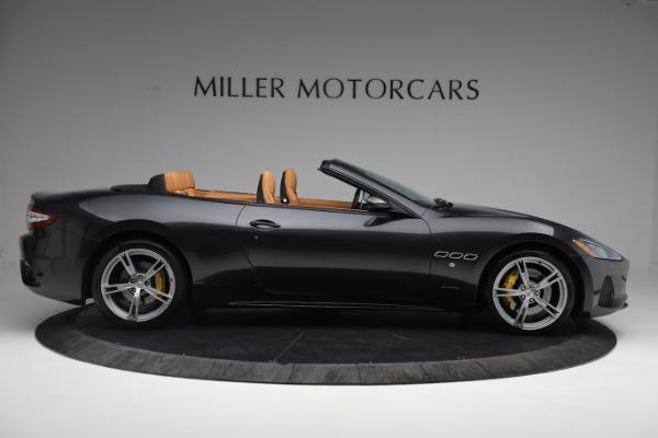 New 2019 Maserati GranTurismo Sport Convertible for sale $164,075 at Alfa Romeo of Westport in Westport CT 06880 16