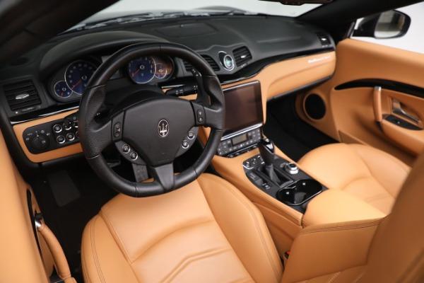 New 2019 Maserati GranTurismo Sport Convertible for sale $164,075 at Alfa Romeo of Westport in Westport CT 06880 19