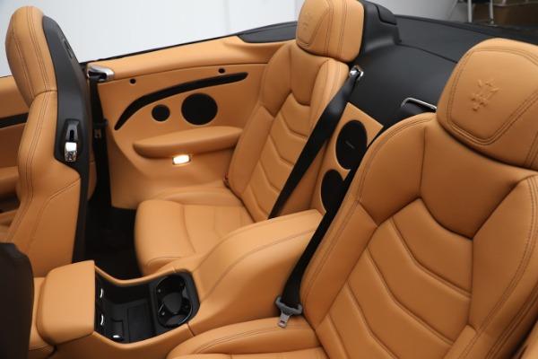 New 2019 Maserati GranTurismo Sport Convertible for sale $164,075 at Alfa Romeo of Westport in Westport CT 06880 22