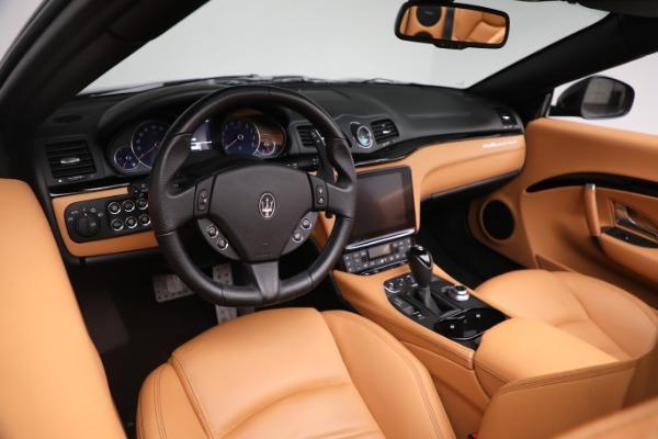 New 2019 Maserati GranTurismo Sport Convertible for sale $164,075 at Alfa Romeo of Westport in Westport CT 06880 24