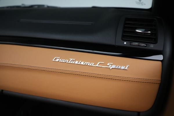 New 2019 Maserati GranTurismo Sport Convertible for sale $164,075 at Alfa Romeo of Westport in Westport CT 06880 26