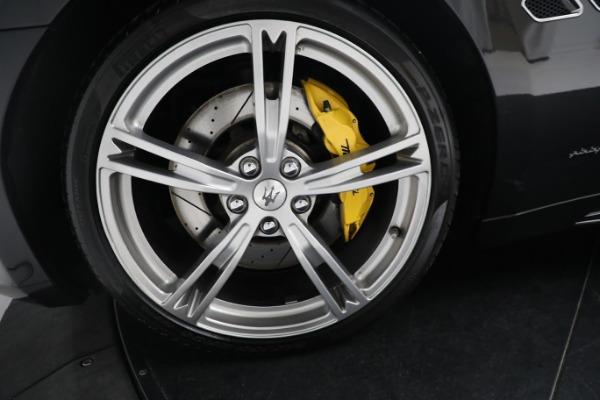 New 2019 Maserati GranTurismo Sport Convertible for sale $164,075 at Alfa Romeo of Westport in Westport CT 06880 27