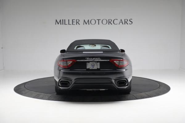 New 2019 Maserati GranTurismo Sport Convertible for sale $164,075 at Alfa Romeo of Westport in Westport CT 06880 5