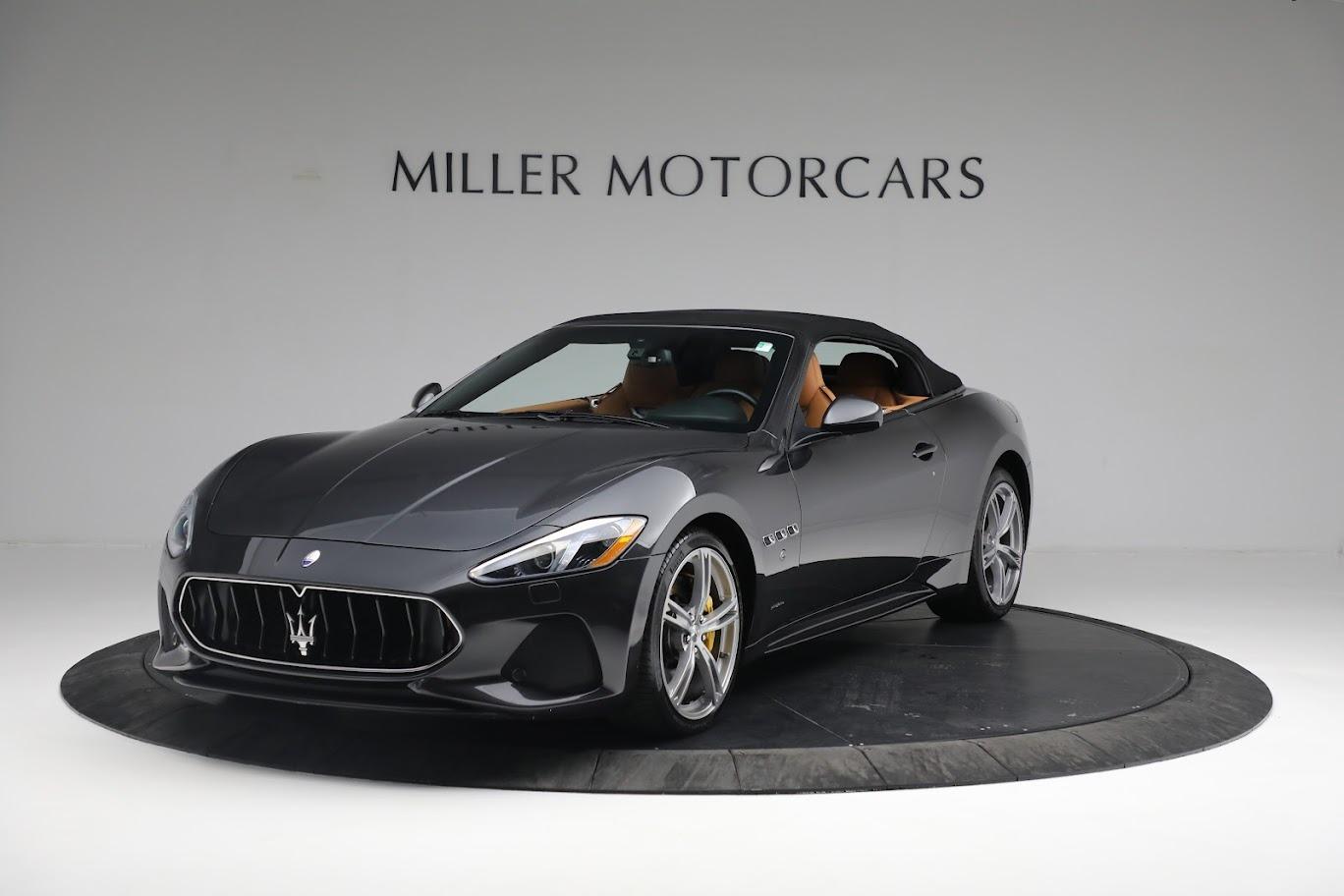 New 2019 Maserati GranTurismo Sport Convertible for sale $164,075 at Alfa Romeo of Westport in Westport CT 06880 1
