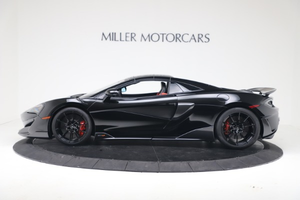Used 2020 McLaren 600LT Spider for sale $249,900 at Alfa Romeo of Westport in Westport CT 06880 12