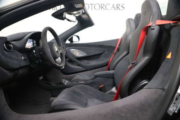 Used 2020 McLaren 600LT Spider for sale $249,900 at Alfa Romeo of Westport in Westport CT 06880 19