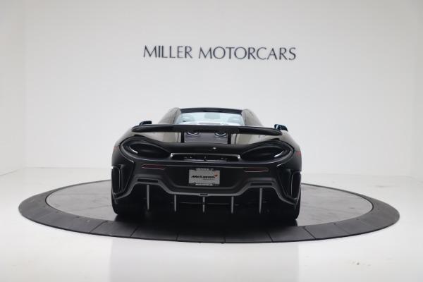 New 2020 McLaren 600LT SPIDER Convertible for sale Sold at Alfa Romeo of Westport in Westport CT 06880 9