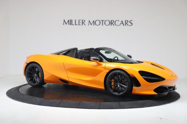 New 2020 McLaren 720S Spider Convertible for sale $374,440 at Alfa Romeo of Westport in Westport CT 06880 10