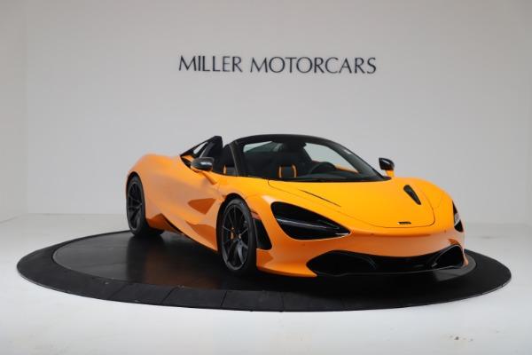 New 2020 McLaren 720S Spider Convertible for sale $374,440 at Alfa Romeo of Westport in Westport CT 06880 11