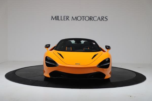 New 2020 McLaren 720S Spider Convertible for sale $374,440 at Alfa Romeo of Westport in Westport CT 06880 12