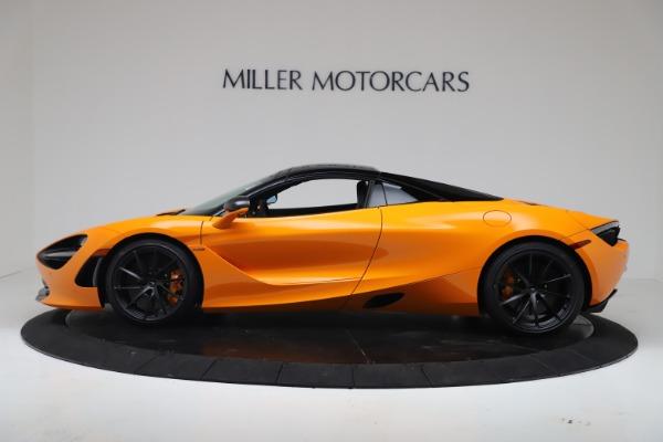 New 2020 McLaren 720S Spider Convertible for sale $374,440 at Alfa Romeo of Westport in Westport CT 06880 15