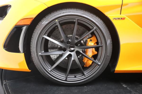 New 2020 McLaren 720S Spider Convertible for sale $374,440 at Alfa Romeo of Westport in Westport CT 06880 19