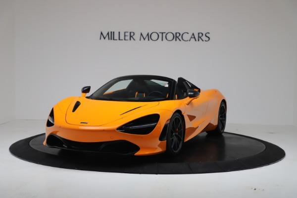 New 2020 McLaren 720S Spider Convertible for sale $374,440 at Alfa Romeo of Westport in Westport CT 06880 2
