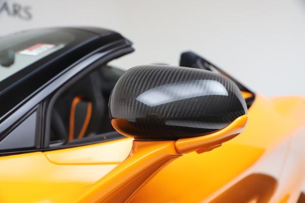 New 2020 McLaren 720S Spider Convertible for sale $374,440 at Alfa Romeo of Westport in Westport CT 06880 22