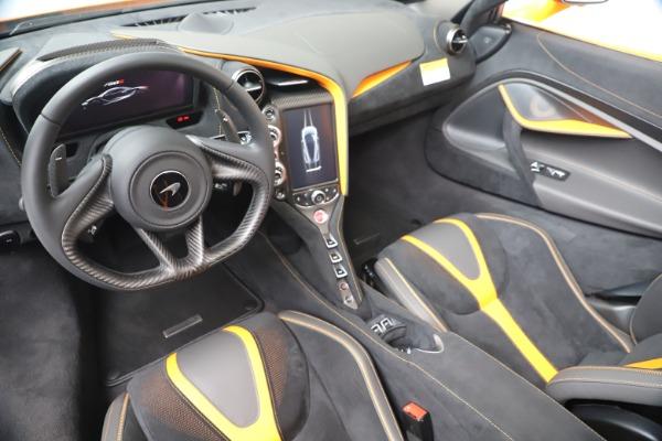 New 2020 McLaren 720S Spider Convertible for sale $374,440 at Alfa Romeo of Westport in Westport CT 06880 23